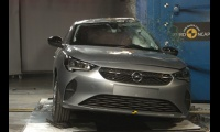 Opel Corsa F 2019 crust test EuroNCAP